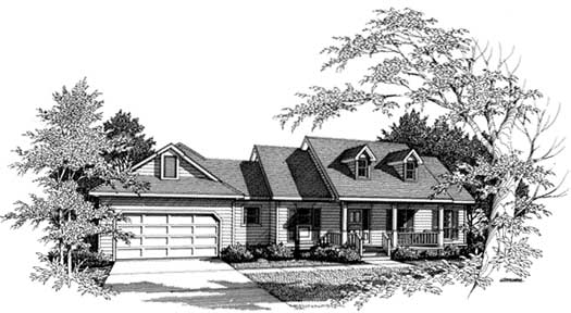 Southern Style House Plans Plan: 14-137