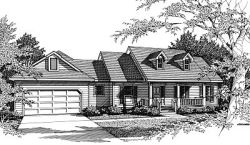 Southern Style House Plans 14-137