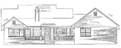Rear Elevation Plan: 14-145