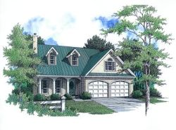 Southern Style Floor Plans Plan: 14-146