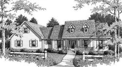Southern Style Floor Plans Plan: 14-149