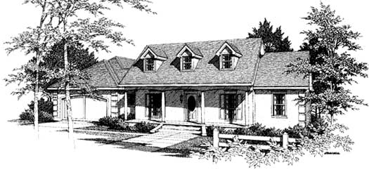 Southern Style House Plans Plan: 14-150