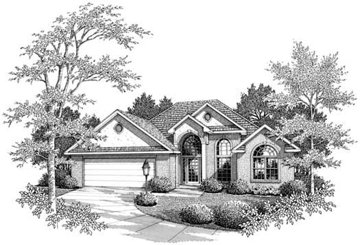 Southern Style House Plans Plan: 14-152