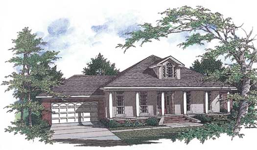 Southern Style House Plans Plan: 14-157