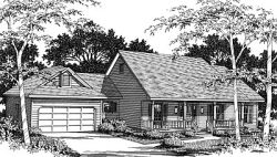 Country Style House Plans Plan: 14-161