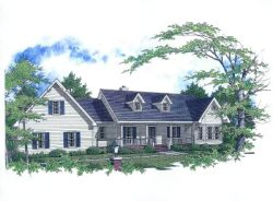 Country Style Floor Plans 14-162