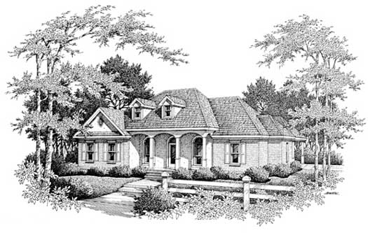 Southern Style House Plans Plan: 14-164