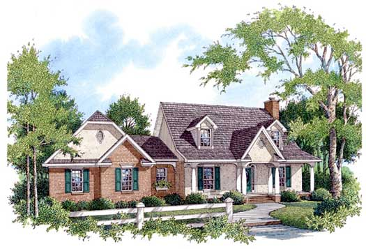 Southern Style House Plans Plan: 14-174