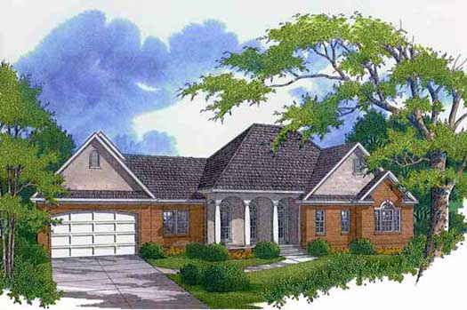 Southern Style House Plans Plan: 14-180