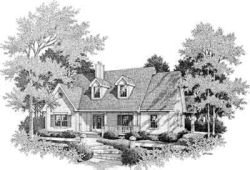 Southern Style House Plans Plan: 14-181