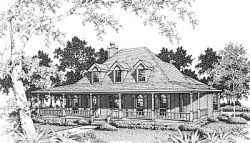 Farm Style House Plans 14-186