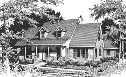 Country Style House Plans Plan: 14-187