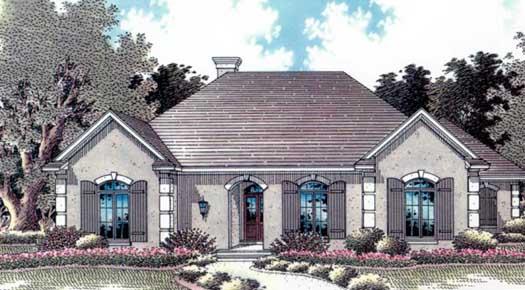 Mediterranean Style House Plans Plan: 14-194