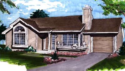 Traditional Style Floor Plans 15-122