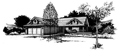 Traditional Style Home Design 15-135