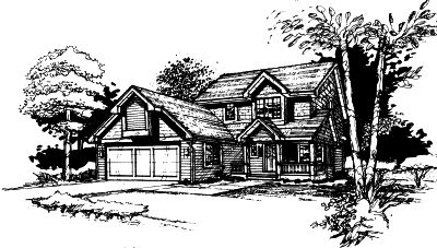 Traditional Style Floor Plans 15-144