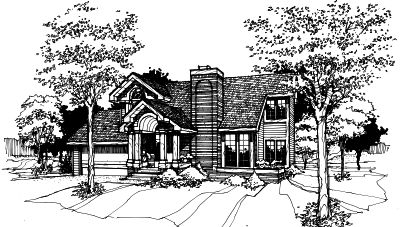 Contemporary Style Home Design 15-149