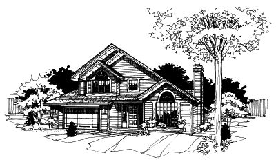 Contemporary Style House Plans 15-155