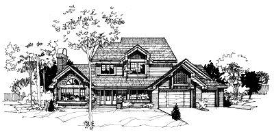 Contemporary Style Home Design 15-160