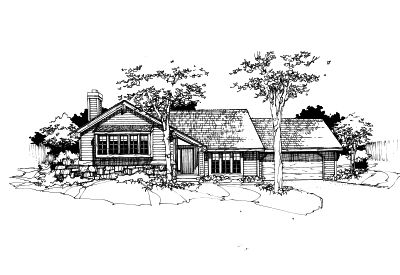 Contemporary Style Floor Plans Plan: 15-170