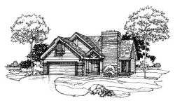 Contemporary Style Floor Plans Plan: 15-191