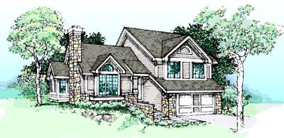 Northwest Style House Plans 15-193