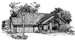 Ranch Style House Plans Plan: 15-200
