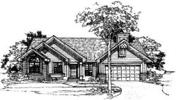 Contemporary Style House Plans Plan: 15-201