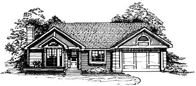 Contemporary Style Floor Plans 15-203