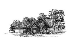 Contemporary Style House Plans Plan: 15-214
