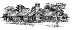 Contemporary Style House Plans Plan: 15-220