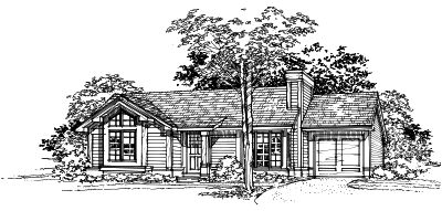 Ranch House Plan - 2 Bedrooms, 1 Bath, 950 Sq Ft Plan 15-223 on kame house sketch, victorian house sketch, split level house sketch, colonial house sketch, cottage house sketch, bungalow house sketch, contemporary house sketch, cape cod house sketch, pool house sketch, tudor house sketch,