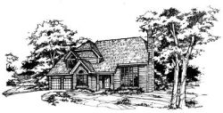 Contemporary Style Floor Plans Plan: 15-232