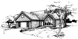 Ranch Style House Plans Plan: 15-242