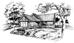 Ranch Style House Plans Plan: 15-243