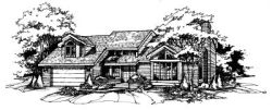 Contemporary Style Floor Plans Plan: 15-248