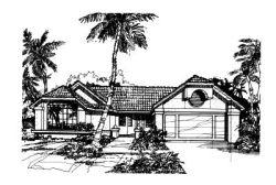 Sunbelt Style Floor Plans Plan: 15-253