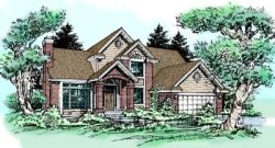 Traditional Style House Plans Plan: 15-305