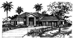 Contemporary Style Floor Plans Plan: 15-367