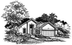 Contemporary Style House Plans Plan: 15-368