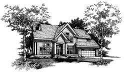 Contemporary Style Floor Plans Plan: 15-379