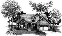Contemporary Style Floor Plans Plan: 15-380