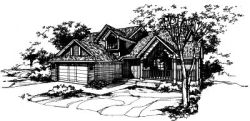 Contemporary Style Floor Plans Plan: 15-403