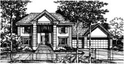 Southern Style Floor Plans Plan: 15-412