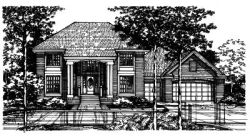 Southern Style House Plans Plan: 15-413