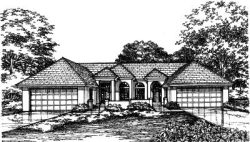 Contemporary Style Floor Plans Plan: 15-432