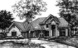 Contemporary Style Floor Plans Plan: 15-433
