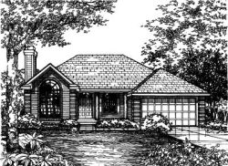 Contemporary Style House Plans Plan: 15-441
