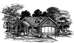 Contemporary Style Floor Plans Plan: 15-461