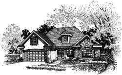 Contemporary Style Home Design Plan: 15-480